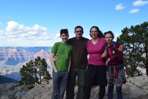 grand canyon national park, south rim, arizona, spring break, family travel
