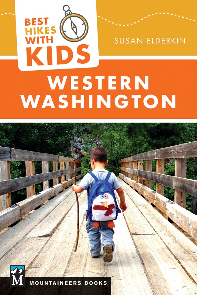 hiking with children, hikes for kids, guidebook, washington