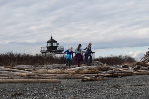point no point county park, lighthouse, puget sound, beaches for kids