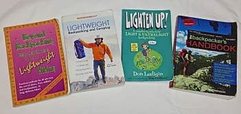 Four Backpacking Books