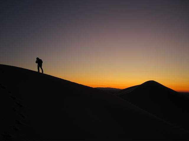 Sunset in the Gobi Desert | Mongolia
