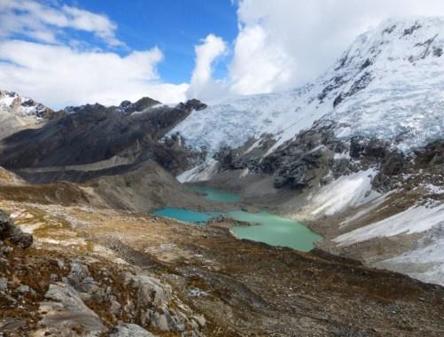 Ascent to Ishinca Pass CBT