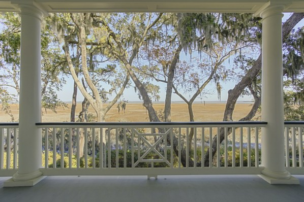 119 Inverness Drive | Marsh to River View from Porch