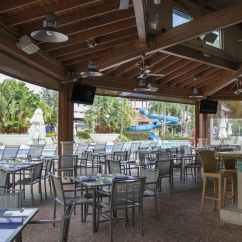 Lunch Room Chairs Foam For Toddlers Tropics Bar & Grill Covered Patio
