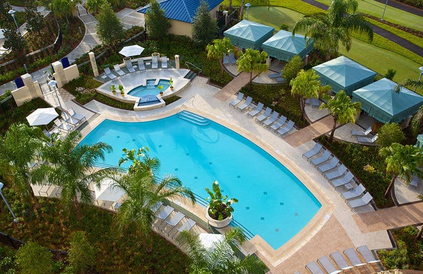 chaise lounge chairs pool contemporary black leather dining pools & lazy river – recreation hilton orlando
