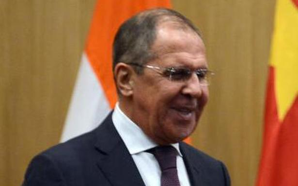 Russian Foreign Minister Lavrov calls on Pakistan PM Khan
