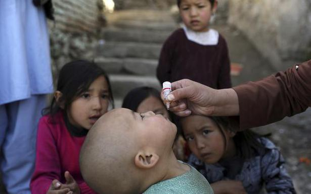 Afghans work to stem polio rise amid violence, pandemic