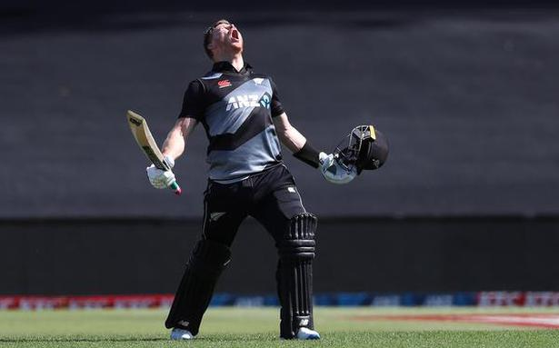 Phillips hits fastest T20 ton for New Zealand as hosts bag series against West Indies