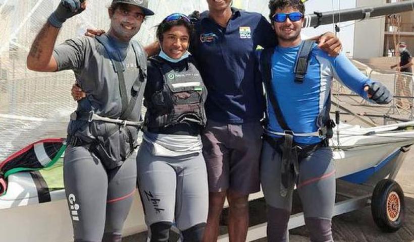 Sailing   Vishnu qualifies for Olympics