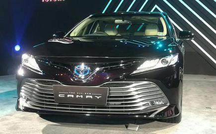 all new camry hybrid grand avanza pertalite toyota launched in india the hindu businessline
