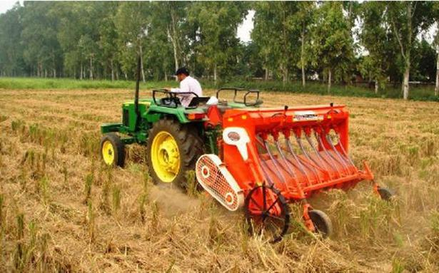 The Happy Seeder in search of helping hands  The Hindu BusinessLine
