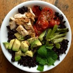 Black Rice Cobb Salad