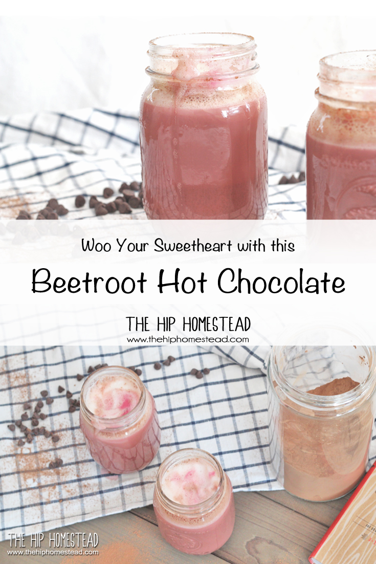 Beetroot Hot Chocolate The Hip Homestead