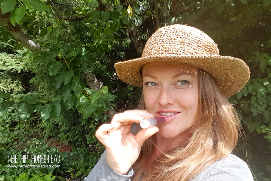 Easy All Natural DIY Lip Balm Recipe - The Hip Homestead