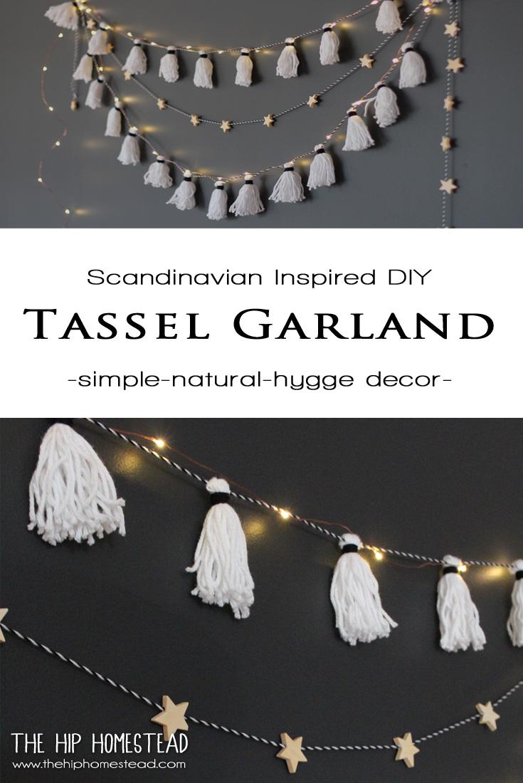 DIY Tassel Garland - The Hip Homestead