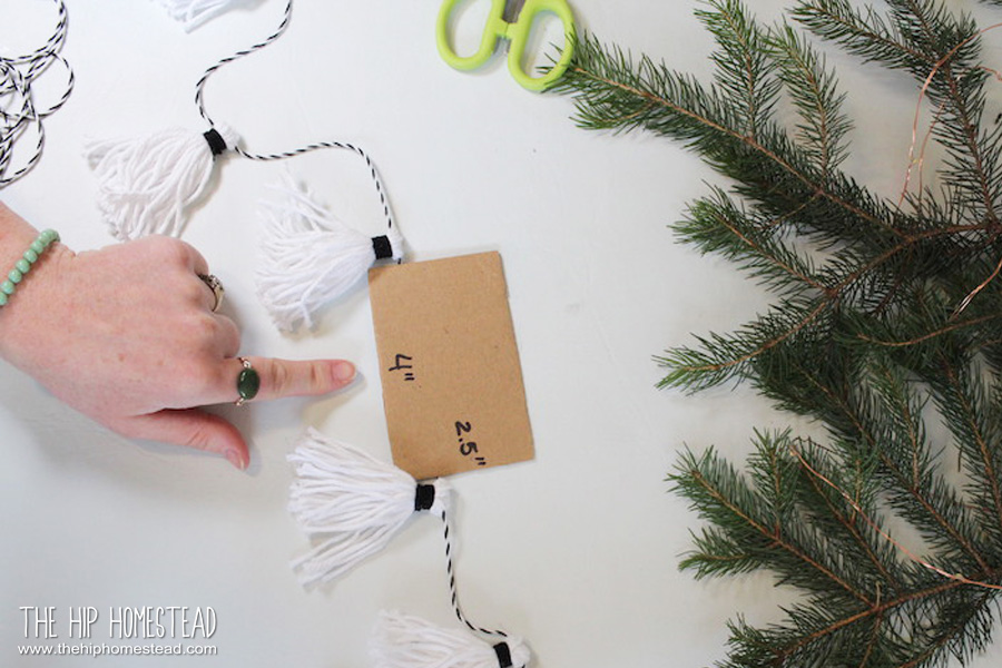 DIY Tassel Garland - The Hip Homestead