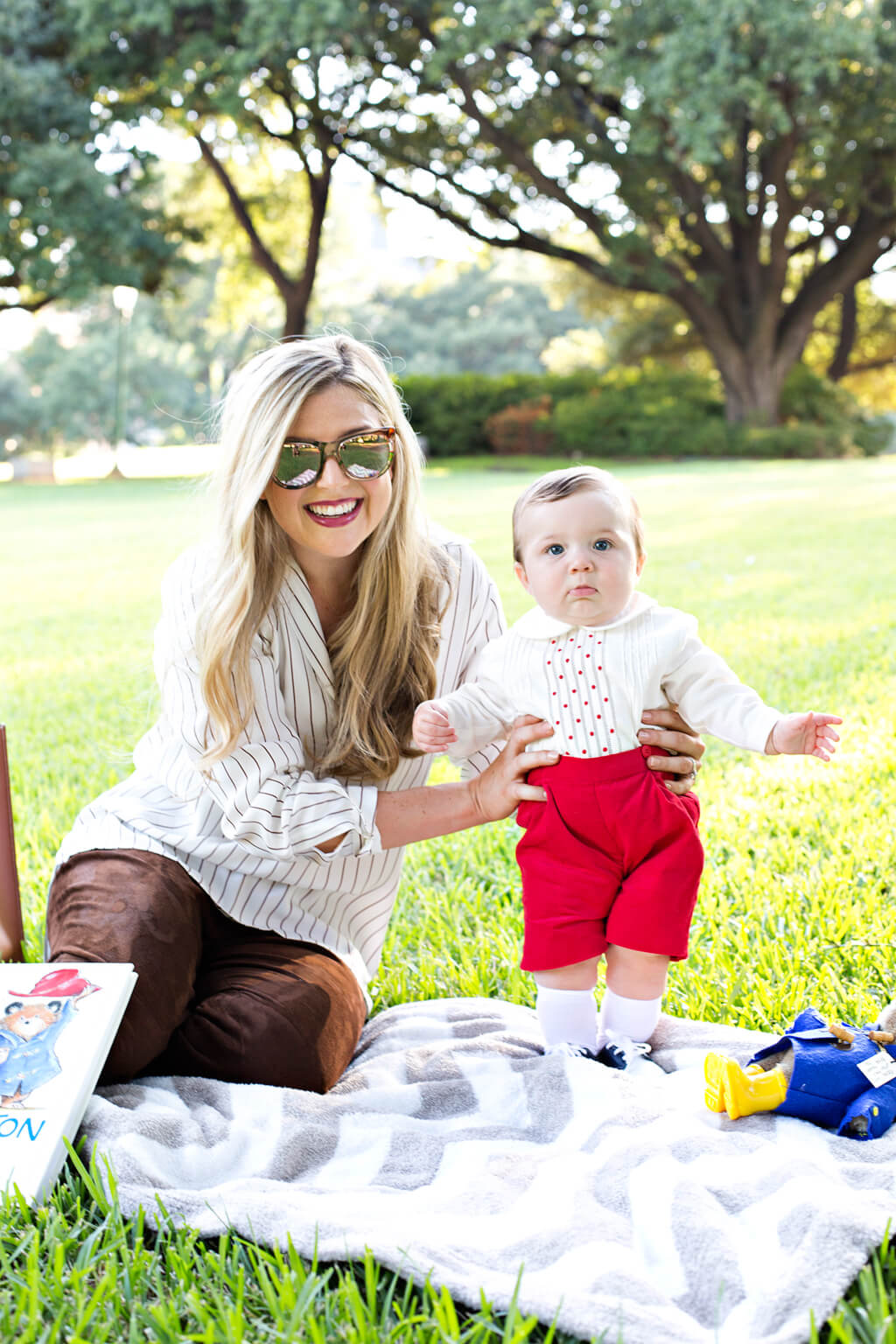 What we Wore // Mommy and Me // Picnic in the Park // www.thehisfor.com
