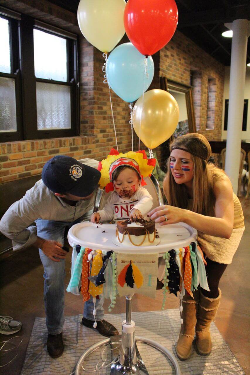 Baby's 1st Pow-Wow // First Birthday // www.thehisfor.com