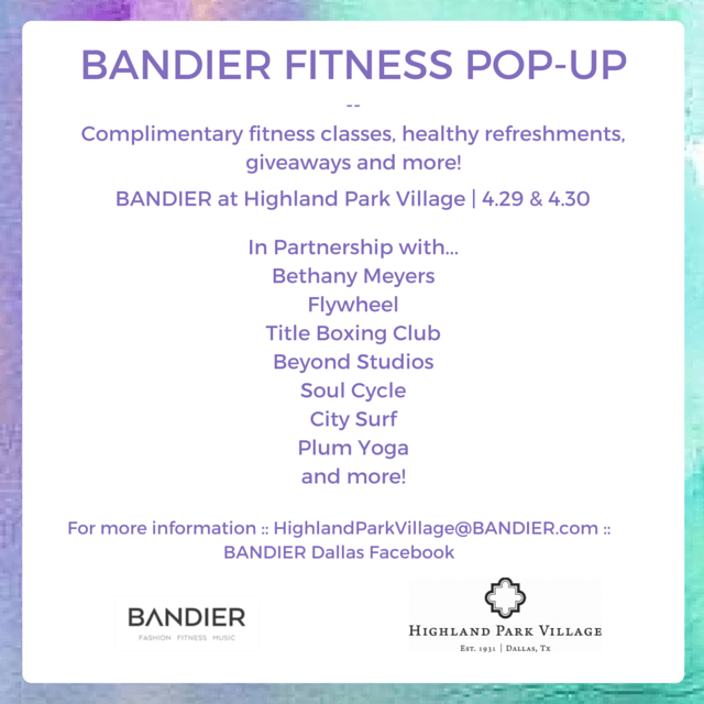 Bandier Fitness // www.thehisfor.com