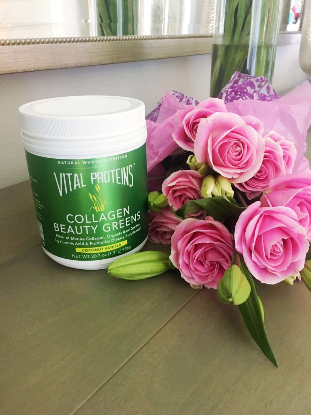 10 Day Beauty Greens Challenge // Why you need Collagen // Vital Proteins // www.thehisfor.com