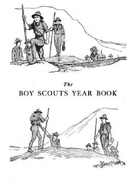 Vintage Boy Scouts Handbooks, Yearbooks, Novels 1910-1922