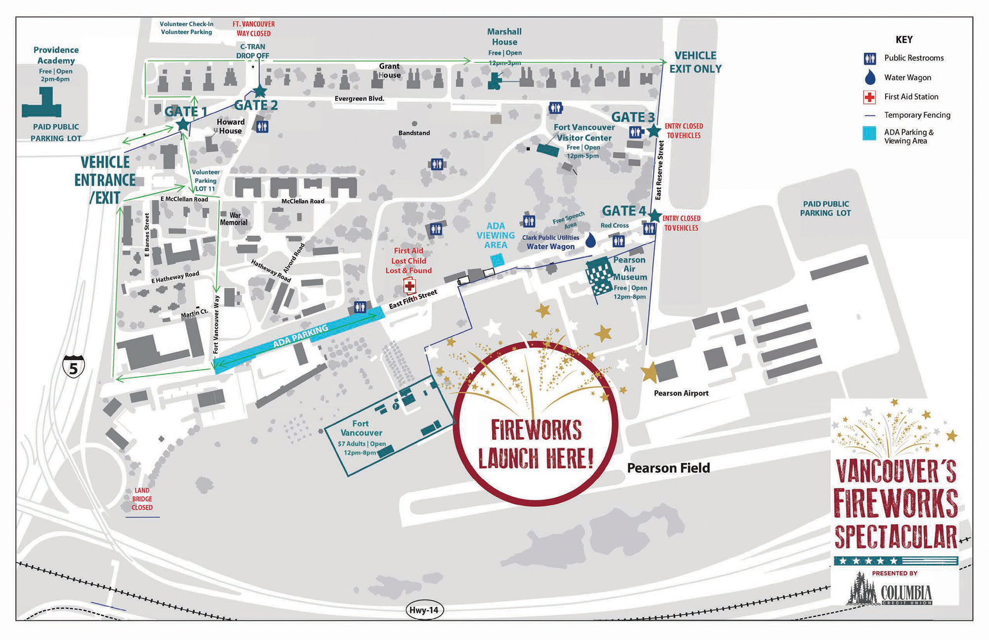 hight resolution of ada parking is free onsite along 5th street for those with a valid ada permit a reserved ada viewing area will be available nearby