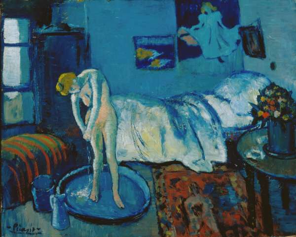 Pablo Picasso Blue Room