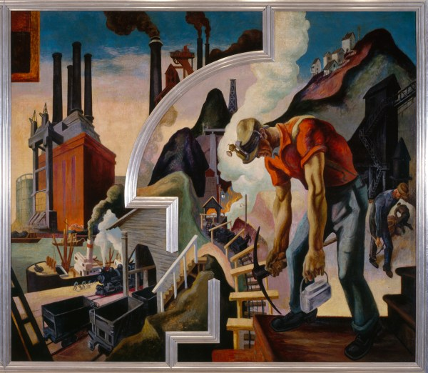 Thomas Hart Benton America Today