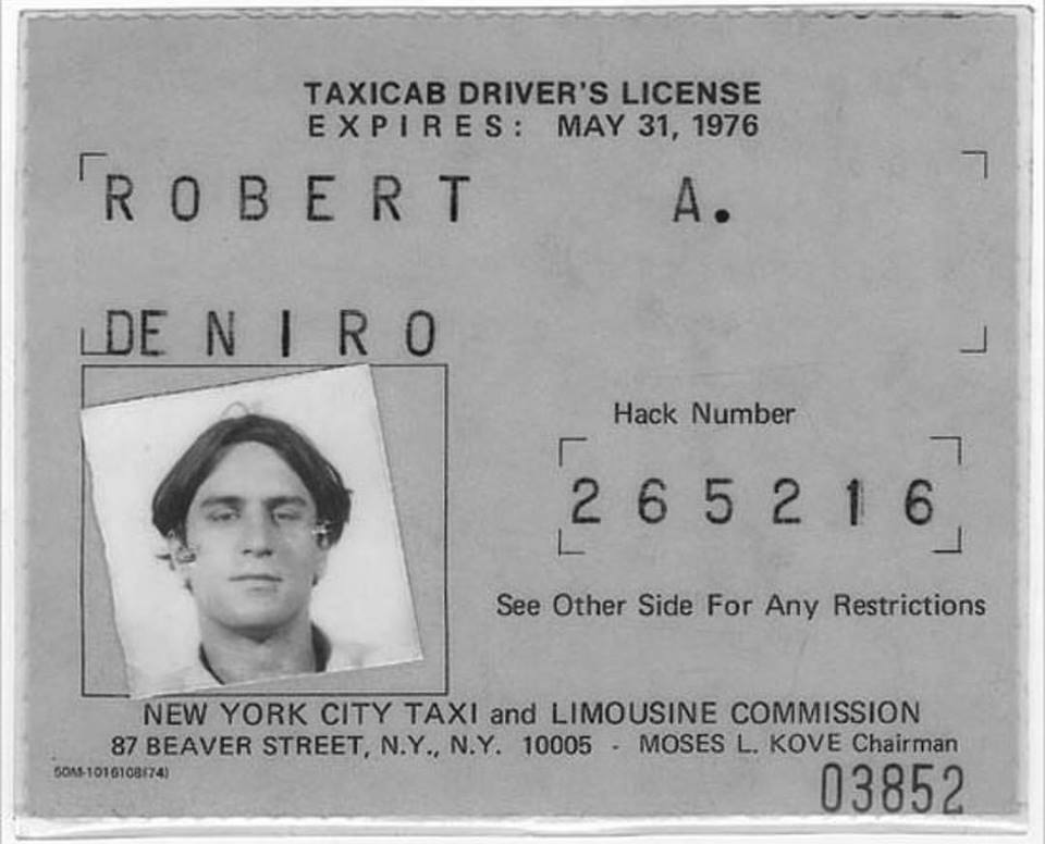 To prepare himself for his role in 'Taxi Driver' (1976). Robert De Niro actually drove a Taxi for over a month in New York City