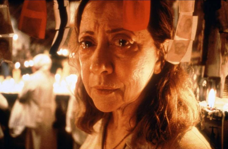 razilian actress Fernanda Montenegro in 'Central Station' (1998). She was nominated for an Academy Award for this critic acclaimed performance. Directed by Walter Salles