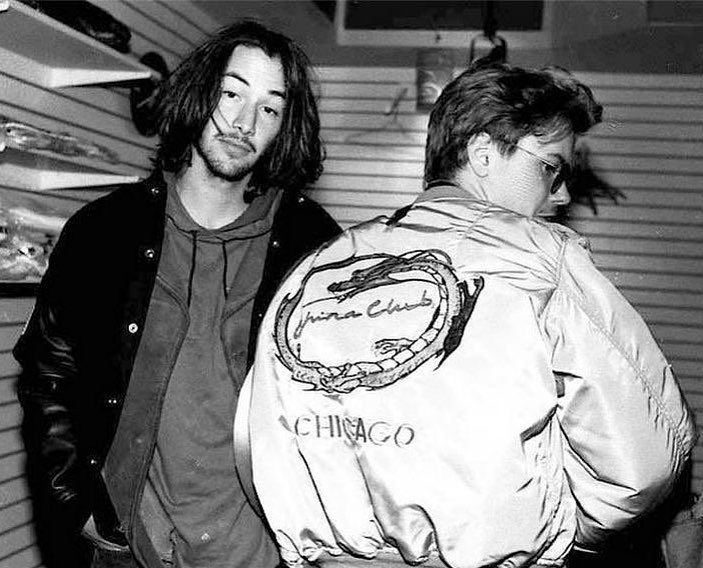One of the most notorious friendship in Hollywood. Keanu Reeves and River Phoenix in LA, 1991