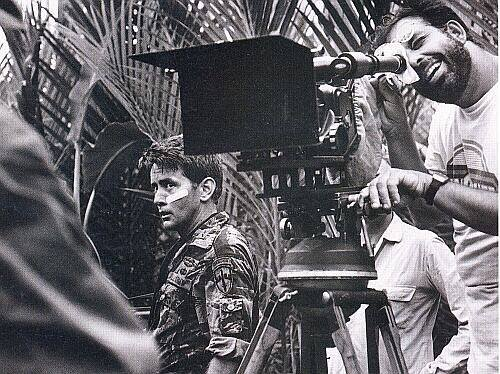 Martin Sheen behind the scenes of 'Apocalypse Now' (1979). Written and directed by Francis Ford Coppola