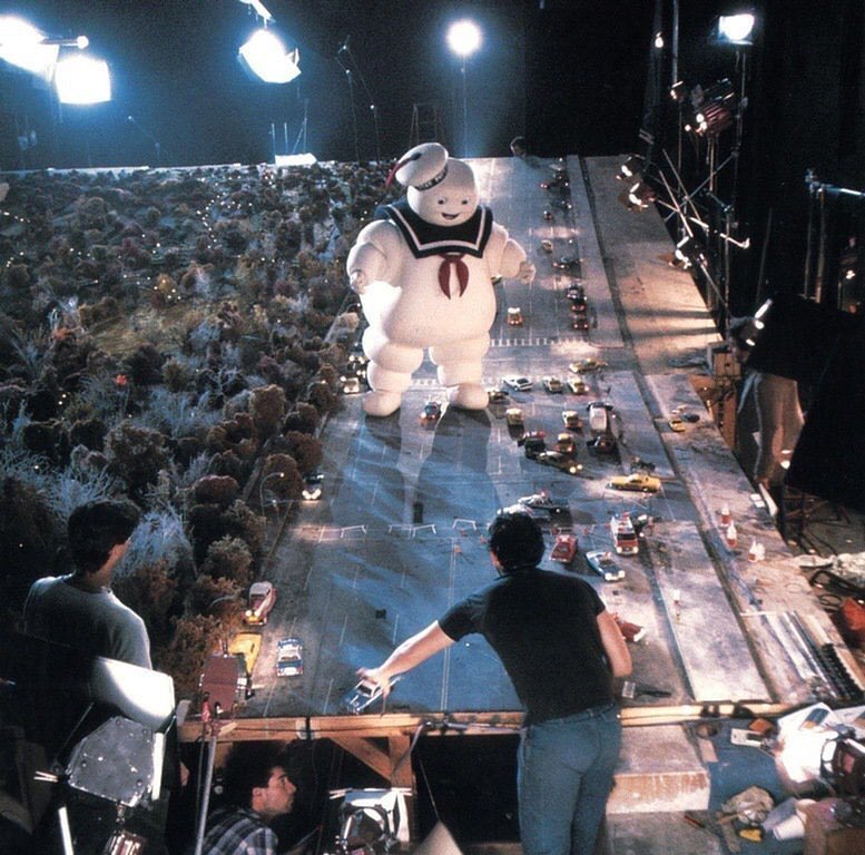 Original Ghostbusters Movie Set, 1984