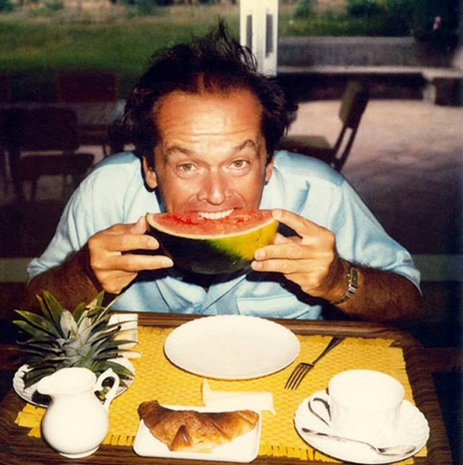 Breakfast with Jack Nicholson in Saint Tropez, 1979