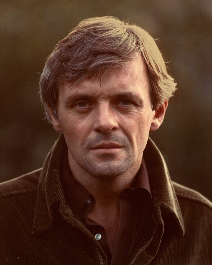 Sir Anthony Hopkins in the 1970s