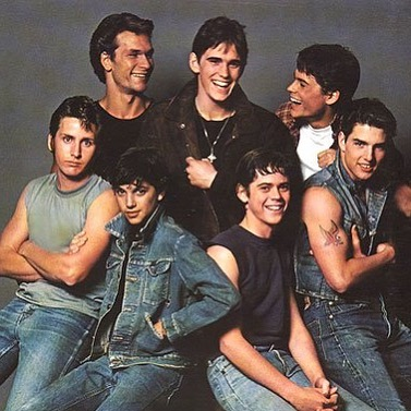 'The Outsiders' (1983) - Directed by Francis Ford Coppola. Actors: Tom Cruise, Matt Dillon, Emilio Estevez, Rob Lowe, Patrick Swayze, C. Thomas Howell, Ralph Macchio