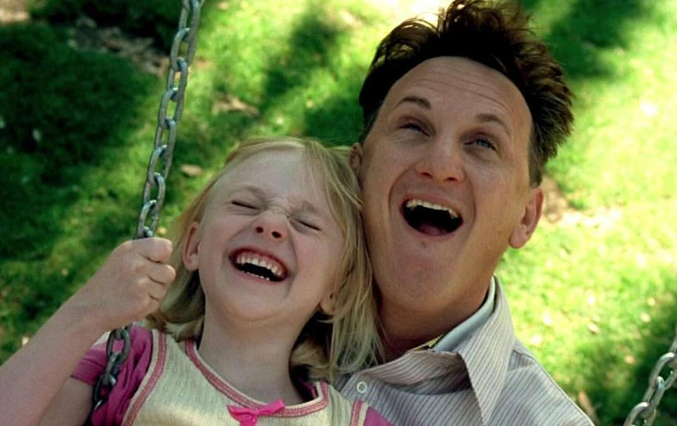 Sean Penn and Dakota Fanning in 'I am Sam' (2001)