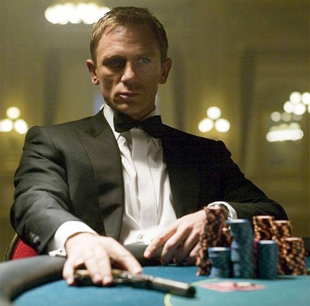 Daniel Craig as James Bond in 'Casino Royale' (2006)