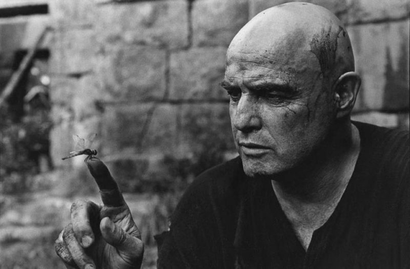 "Marlon Brando as Colonel Walter E. Kurtz in ""Apocalypse Now"" (1979)"