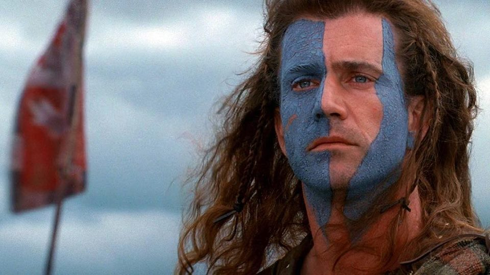 """They may take our lives, but they'll never take... OUR FREEDOM!"" - ""Braveheart"" (1995) - Directed by Mel Gibson"