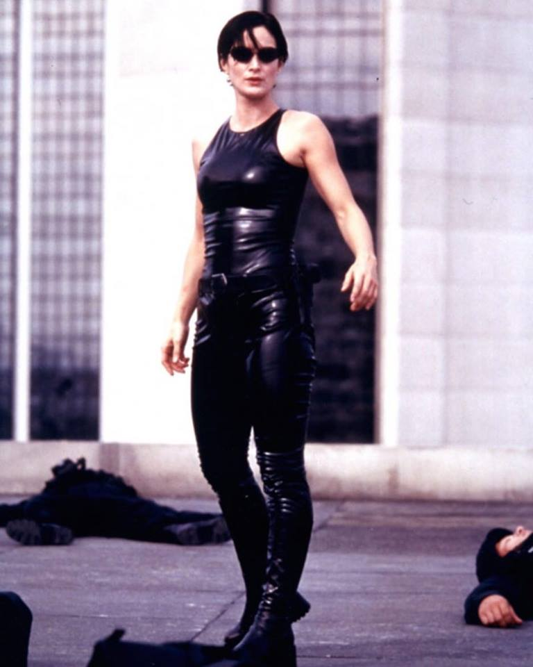 Carrie-Anne Moss in 'The Matrix'(1999)