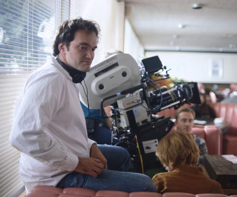 Behind the scenes of 'Pulp Fiction' (1994)Quentin Tarantino was born in Knoxville, Tennessee, in 1963. After dropping out of High School at 15 to pursue an acting career, he was diverted into writing scripts and directing.