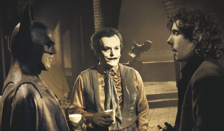 The coffee that Monday morning requiresBehind the scenes of Jack Nicholson, Michael Keaton and Tim Burton on a coffee break in 'Batman' (1989)