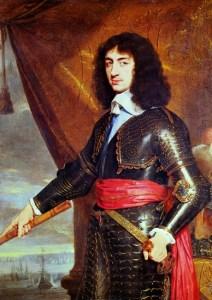Image of King Charles II