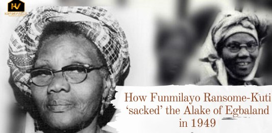 How Funmilayo Ransome-Kuti 'sacked' the Alake of Egbaland in 1949