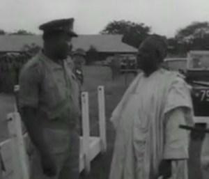 Image of Muhammadu Ribadu and Aguiyi-Ironsi