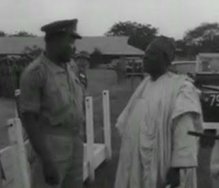 Image of Ribadu and Aguiyi-Ironsi