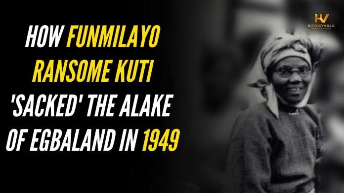 How Funmilayo Ransome-Kuti