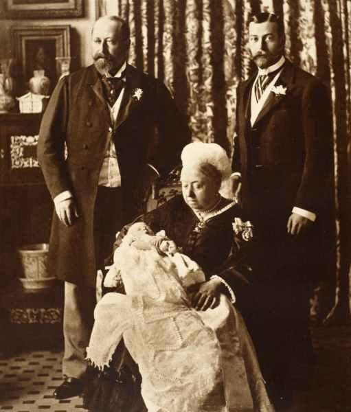 Image of Edward VIII Christening