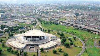Image of The National Theatre, Igando, Lagos.